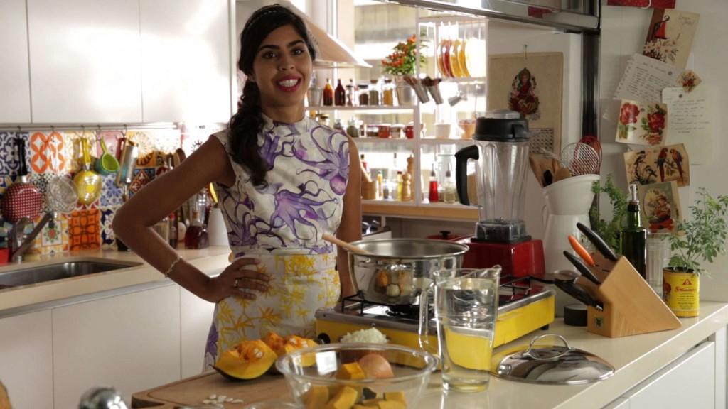 A Nutricionista e apresentadora do programa Bela Cozinha, Bela Gil. Foto: site Terra