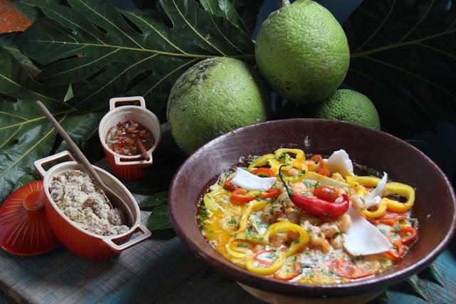 O restaurante oferece ainda peixes e frutos do mar que podem ser servidos assados na brasa.