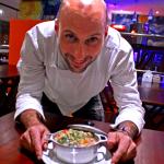 Chef Lucius Gaudenzi.