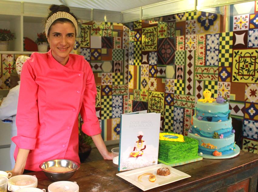 Chef Otavia Sommavilla. Foto: Gabrielle Ferreira.