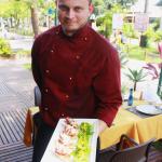 Chef San Cesares. Foto: Gabrielle Ferreira.