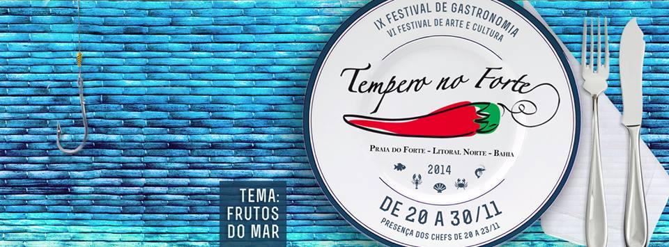 IX Festival de Gastronomia Tempero do Forte acontece este mês