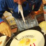 Chef Don Fabrízio Abatte.