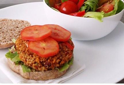 Hambúrguer Gourmet de Quinoa