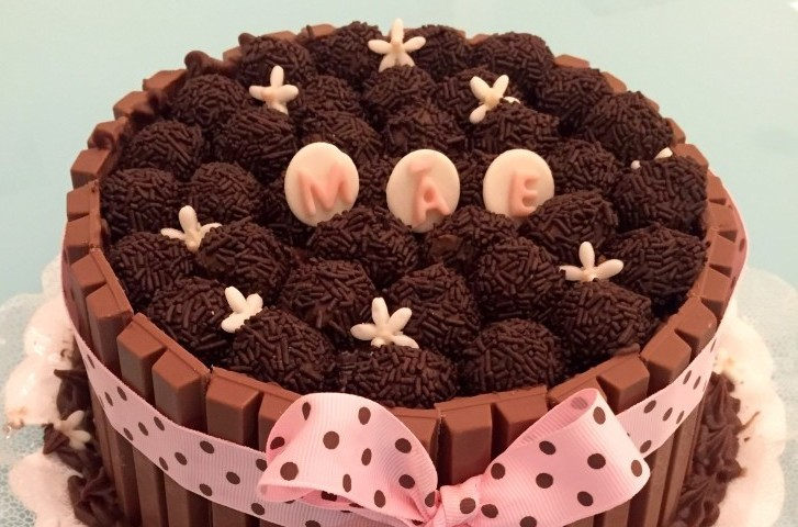 Torta Kit Kat especial Dia das Mães. Foto: Divulgação.