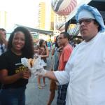 Samily e Chef Tiago Falcão do Truck Nalarica.