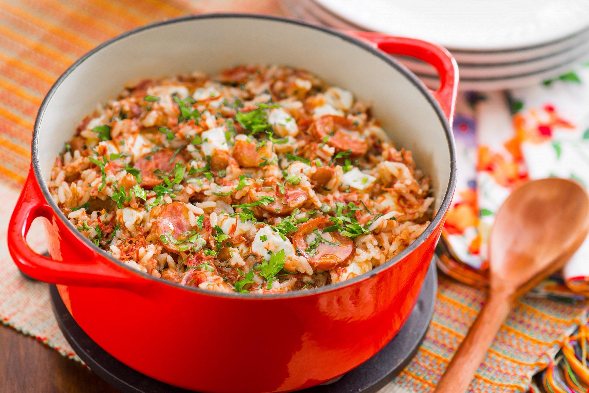 Chef ensina a preparar prato típico do Nordeste: Baião de Dois