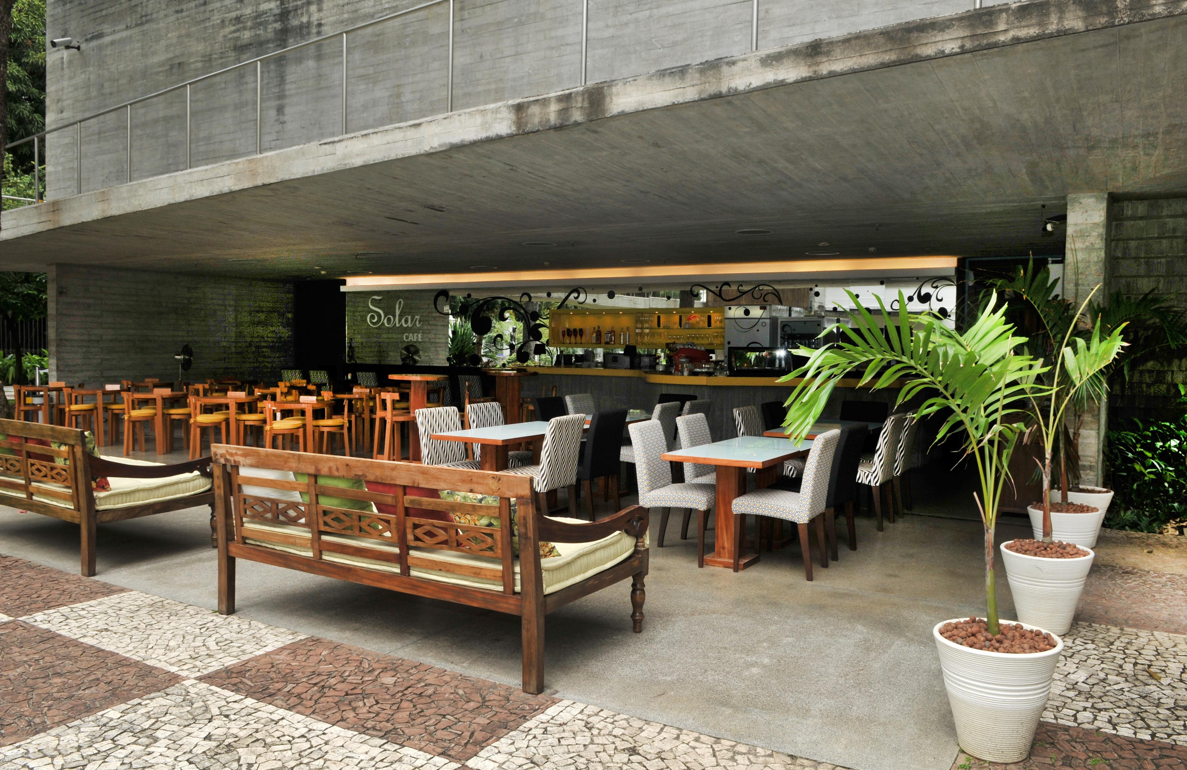 Restaurante Solar Palacete das Artes. Foto: Divulgação.