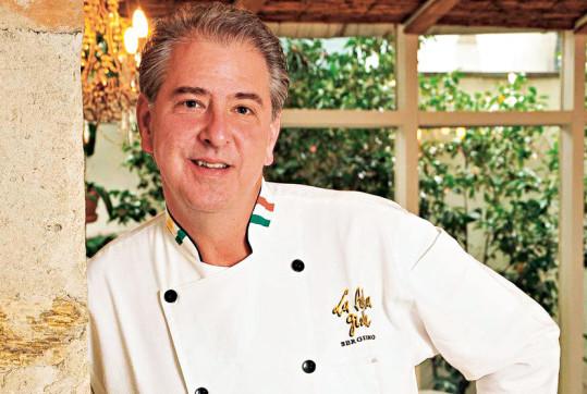 Chef Sergio Arno. Foto: Gladstone Campos.