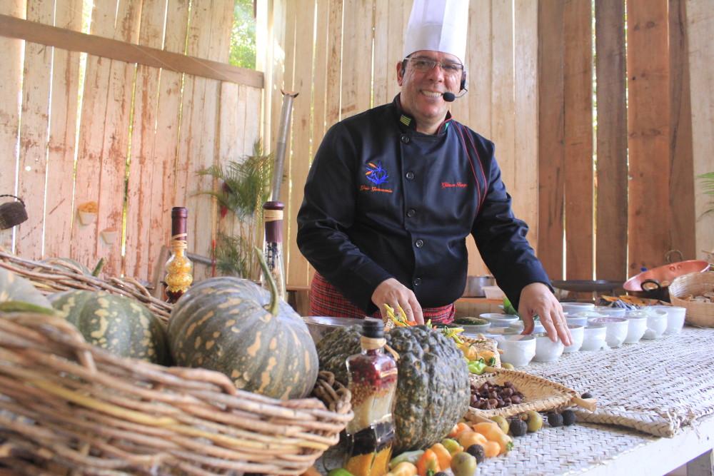 Chef Gilmar Borges - Foto Gabrielle Ferreira