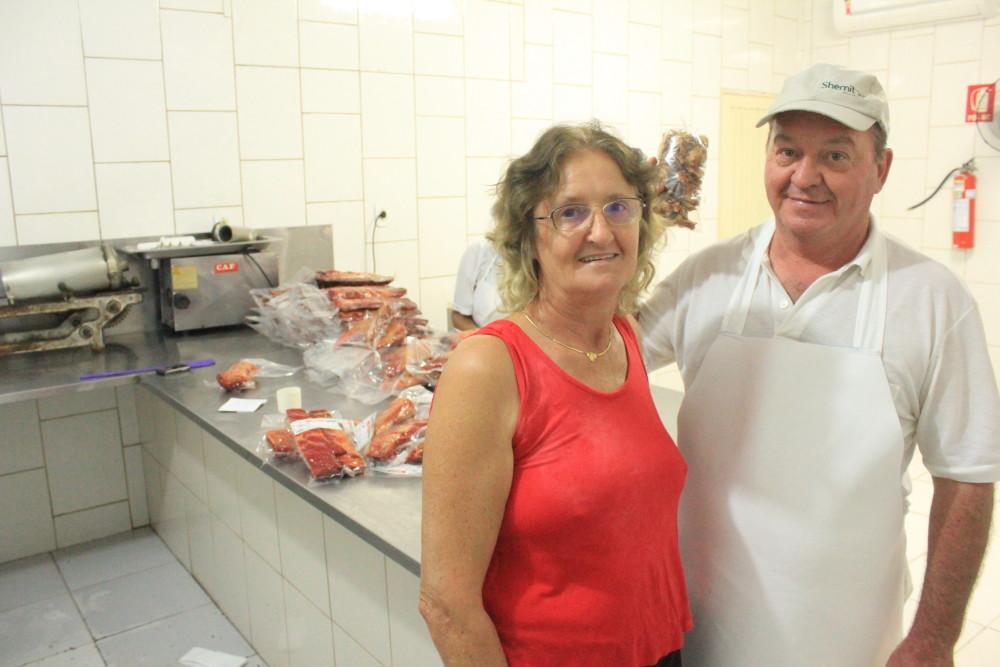 Dona Marli e Seu Rodolfo.