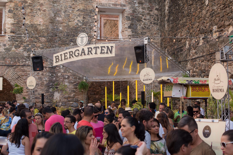 Neste domingo, nova edição do Biergarten
