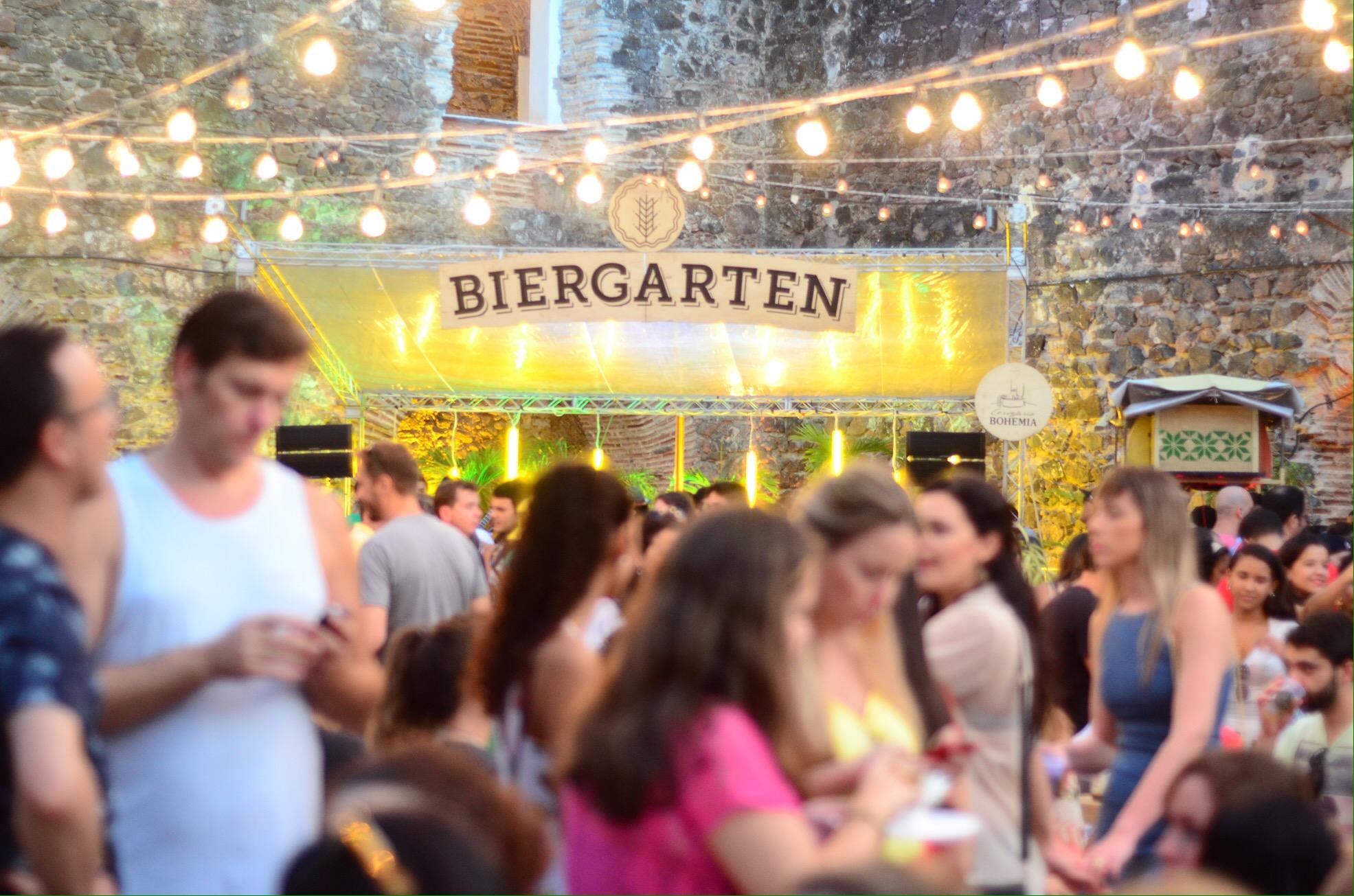 Com venda on-line, Biergarten volta a Salvador neste domingo (21)