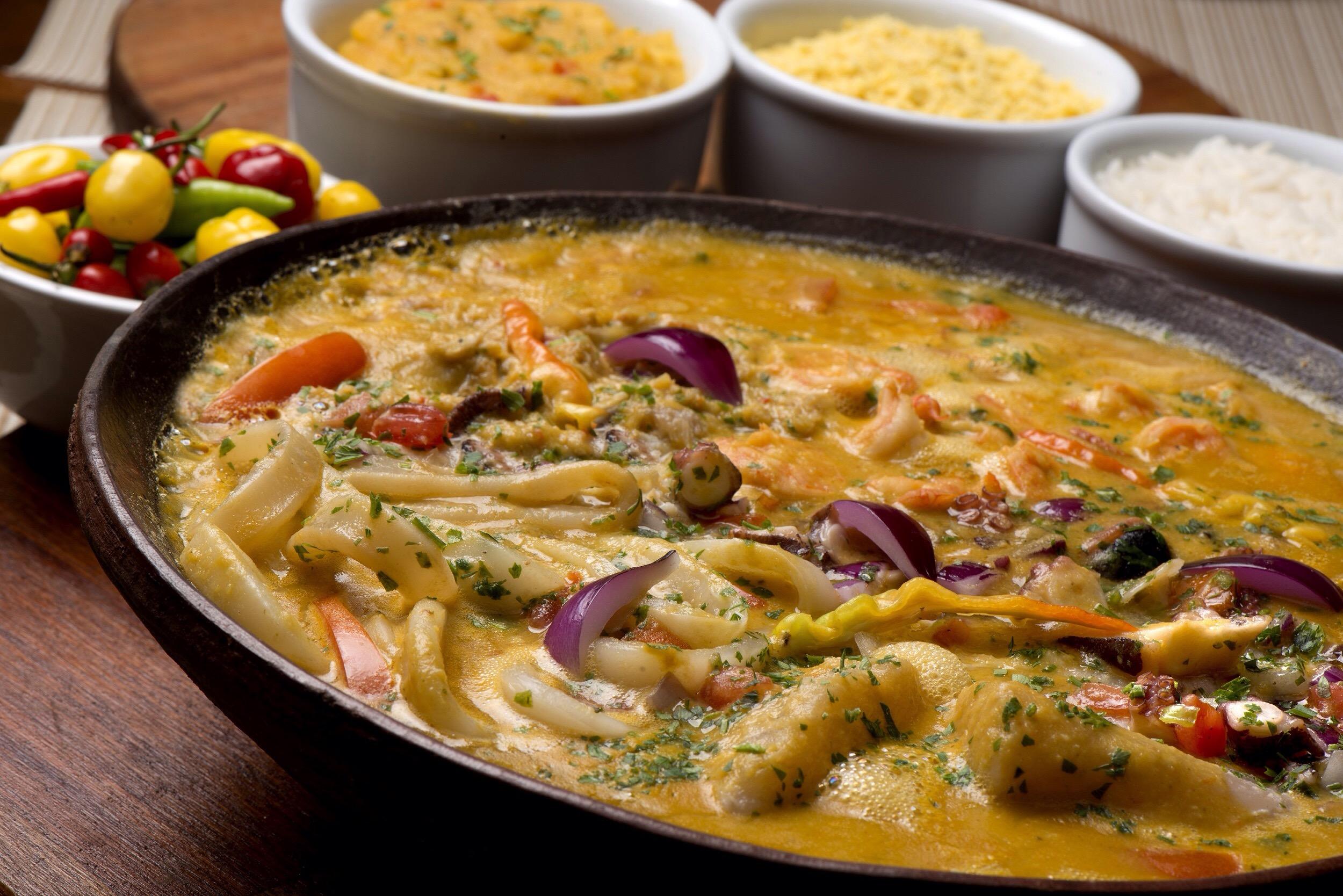Restaurante lança menu de moquecas