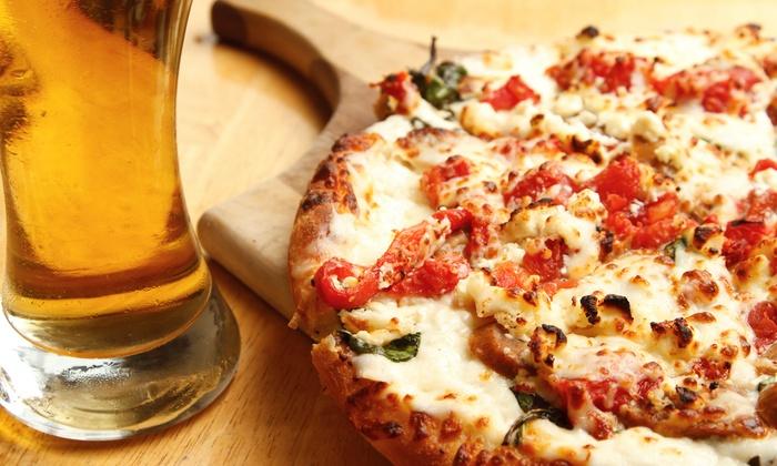 Happy hour com pizzas artesanais e chopp holandês