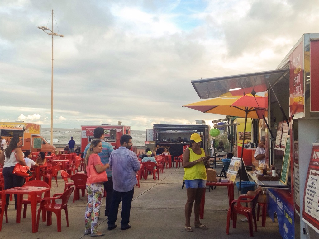 Trucks duelam no Bahia Food Park