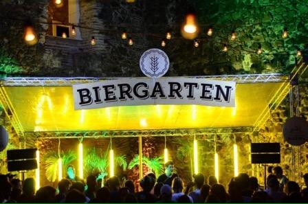 Neste fim de semana tem edição junina do Biergarten