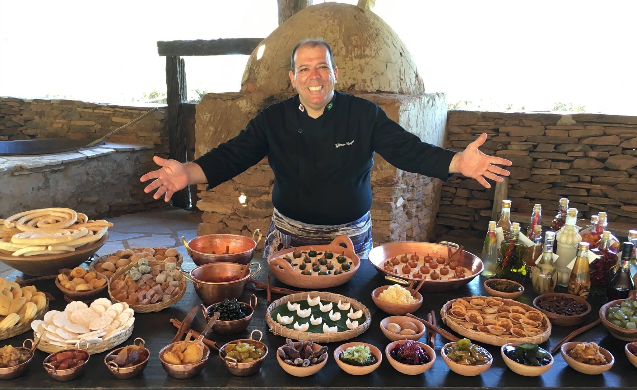 Chef Gilmar Borges. Foto: Divulgação.