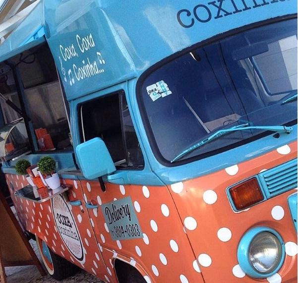 Food truck Coxa Coxinha. Foto: Divulgação.