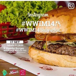Dia de tirar foto de comida; evento reúne usuários do Instagram na Hambs Burger