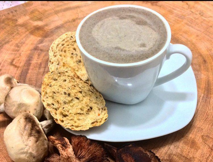 Receita do Pinho: Cappuccino de Cogumelos