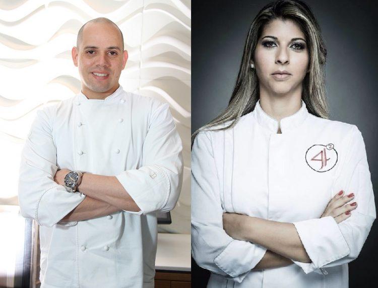 Chefs Fabrício Lemos e Lisiane Arouca. Foto: Divulgação.