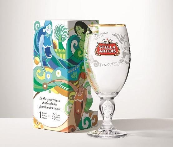 Stella Artois lança a campanha para promover o acesso à água potável no Brasil