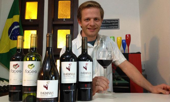 Diretor da vinícola Lídio Carraro visita Salvador