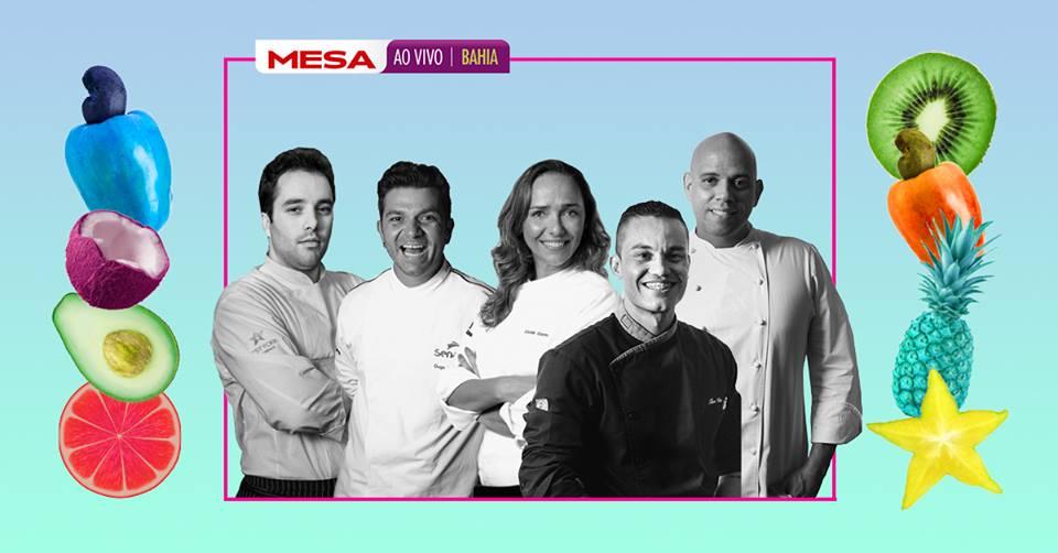 Jantar Magno no dia 12/05 com um cardápio preparado junto dos chefs Elia Schramm, Carole Crema, Tim Vianna, Don Fabrizio e Fabricio Lemos. Foto: Divulgação.