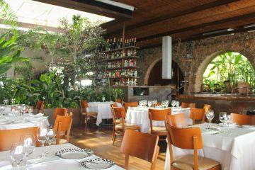 Salão do restaurante Amado, um dos participantes do Restaurant Week. Foto: Repórter Gourmet.