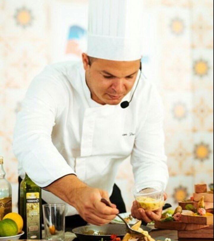 Chef Junior França apresenta aula gratuita em Salvador. Foto: Divulgação.
