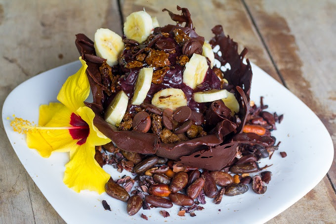 Açai na Coroa de chocolate - Mário Nogueira