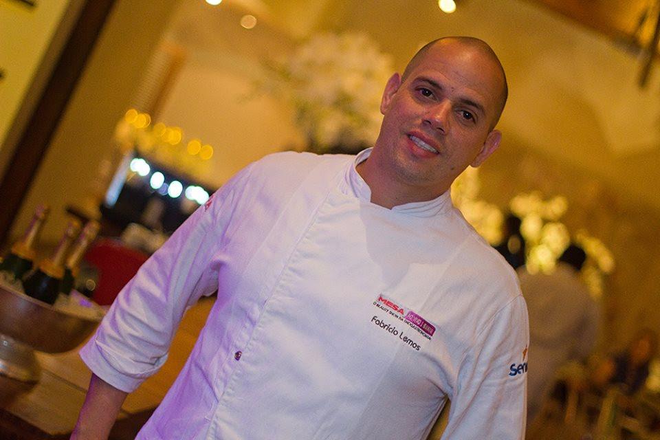 Chef Fabrício Lemos integra a Cozinha Show (Divulgação).