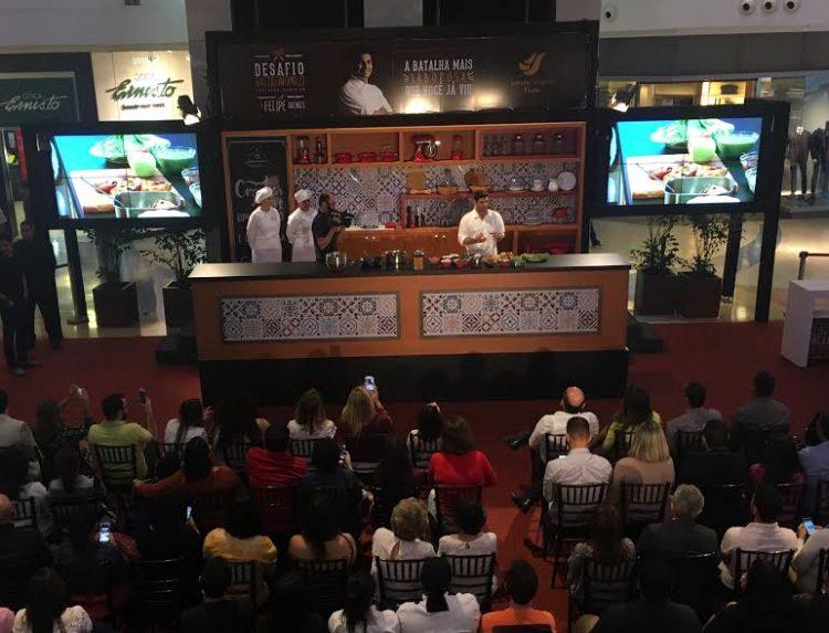 Começa Desafio Gastronômico com aula de Felipe Bronze