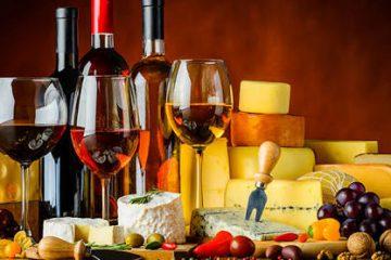 Harmonização de vinho e queijos