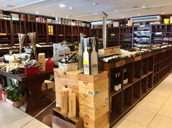 Onde comprar vinho em Salvador - Bistrot du Vin Adega.