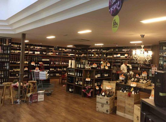 Onde comprar vinho em Salvador Adega Perini Pituba.