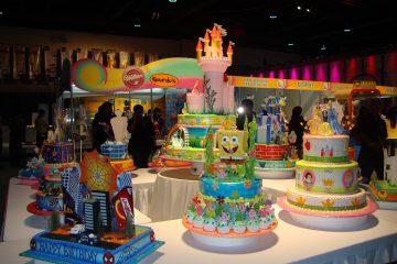 Evento Cake Design Expo que acontece em São Paulo. Foto: Internet.