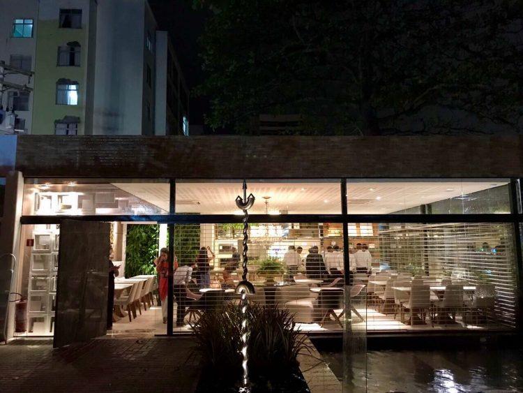 Restaurante Casa Cor Bahia. Foto: Pedro Mascarenas / Repórter Gourmet.