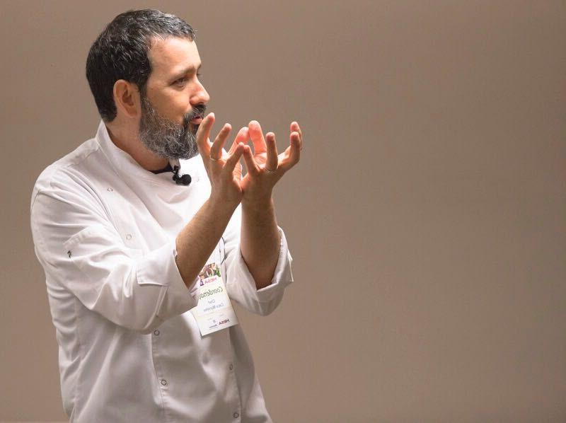 Chef Caco Marinho. Foto: André Fofano.