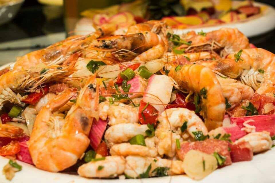 CEIA DE NATA - Salada de camarão com kani - Sabor Caseiro da Chica