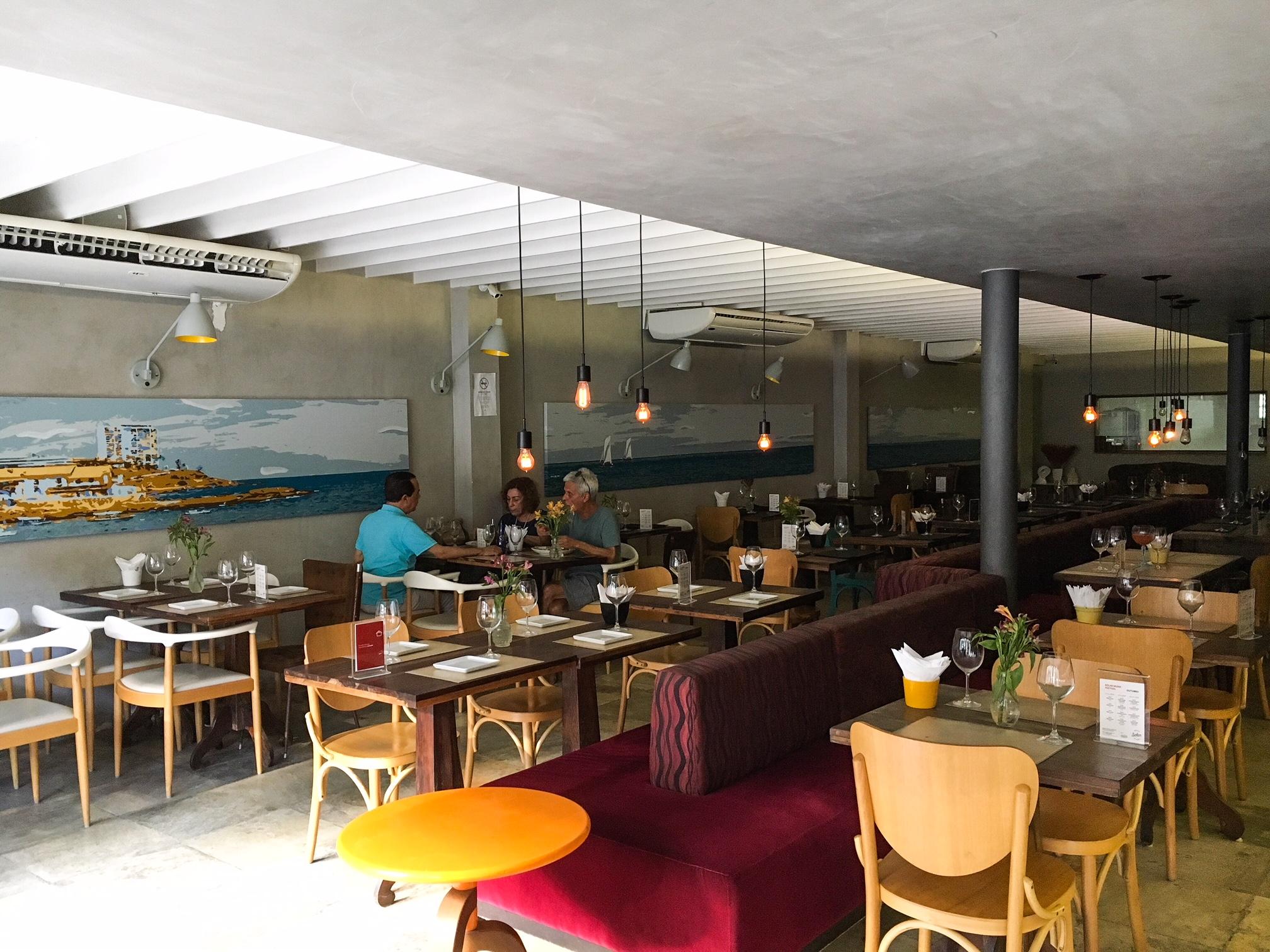 Restaurante Solar Rio Vermelho. Foto: Repórter Gourmet.